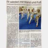 Traditionelles Taekwon-Do nun auch in Hopsten